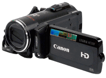 Video-Kamera Canon Legria HF200E