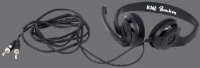 PC-Kopfhörer mit Mikrofon